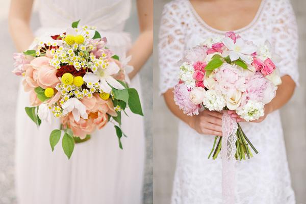Clematis Accented Wedding Bouquet