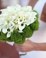 Dianthus and Calla Bouquet