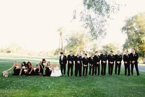 Elegant Black Wedding Party Outfits 2