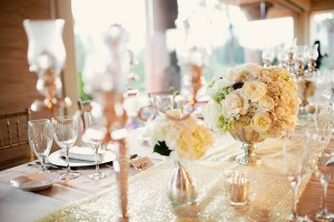 Elegant Gold and White Wedding 2