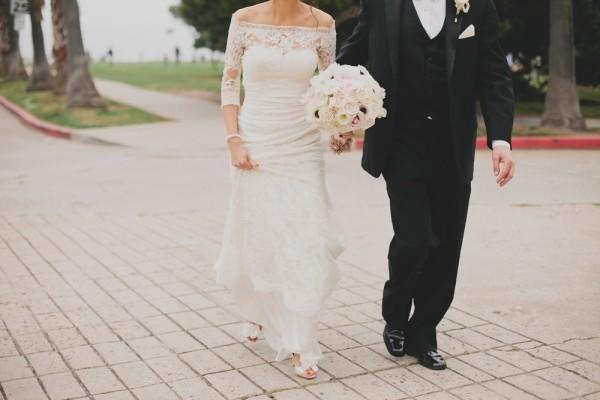 Elegant Lace Gown