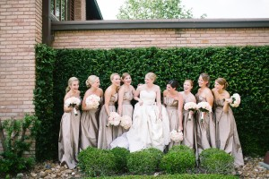 Elegant Long Bridesmaids Dresses