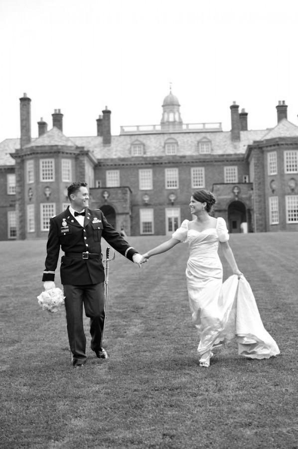 Elegant New England Military Wedding