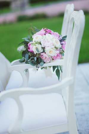 Elegant White Wood Chairs