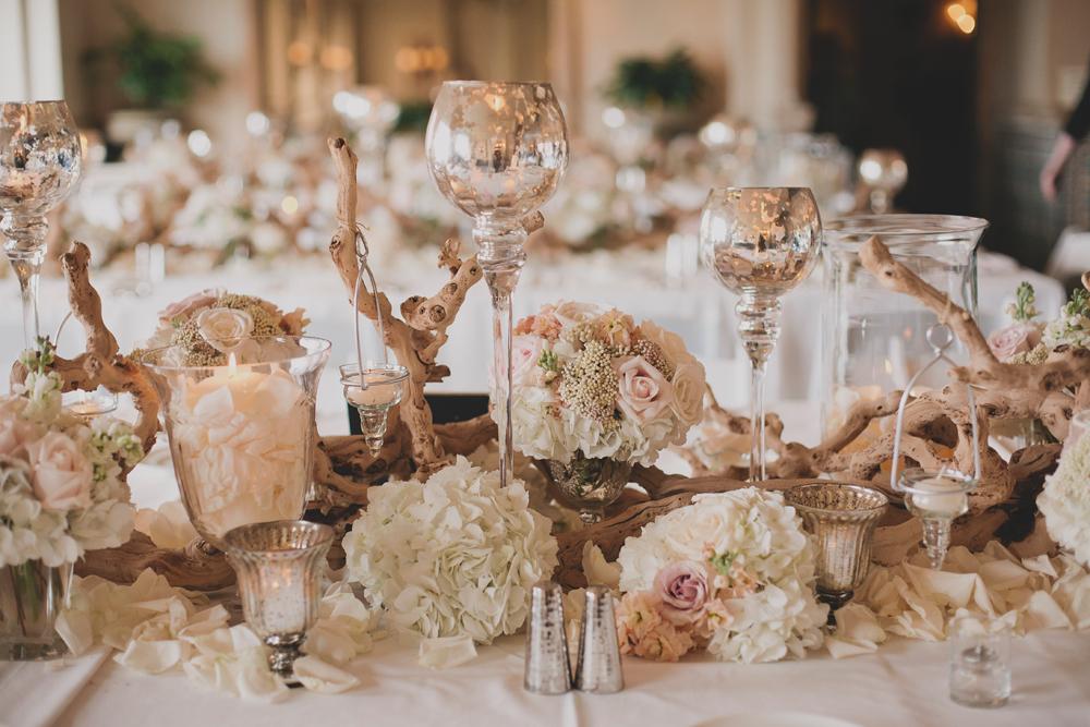 glamorous elegant rustic wedding tablescape elizabeth anne designs the wedding blog. Black Bedroom Furniture Sets. Home Design Ideas