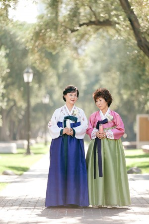 Korean Wedding Mothers Dresses