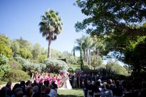 Mediterranean Inspired Santa Barbara Wedding Michael and Anna Costa 1
