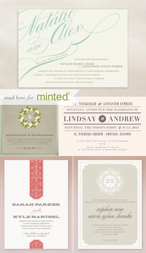 Minted Giveaway on Elizabeth Anne Designs
