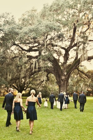 Navy Bridal Party Attire