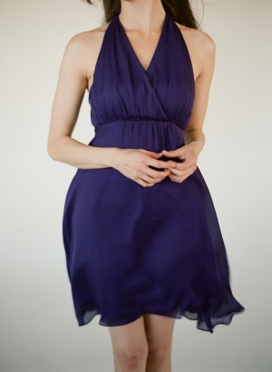 Navy Bridesmaids Dresses Little Borrowed Dress 2