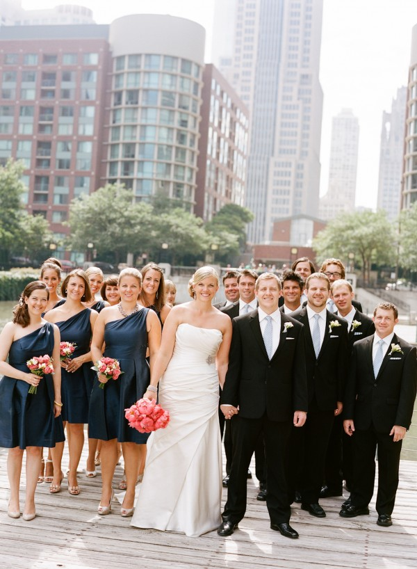 Navy and Black Chicago Wedding Party - Elizabeth Anne Designs: The ...
