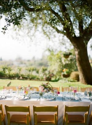 Outdoor Wedding Reception1
