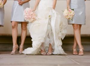 Pale Blue Bridesmaids Dresses