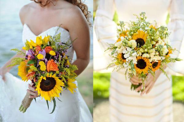 Pretty Sunflower Bouquets
