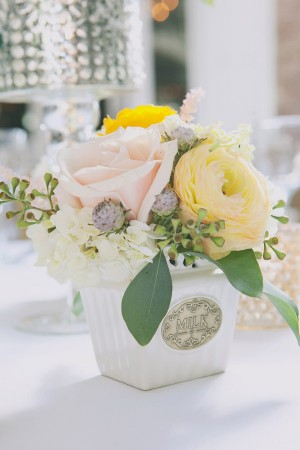 Shabby Chic Vintage Centerpieces
