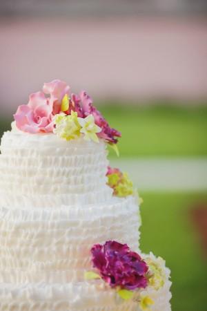 Ruffled Cake Icing