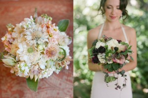 Rustic and Romantic Wedding Bouquets