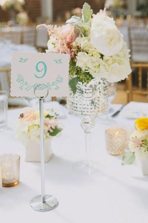 Table Numbers Wedding Ideas - Elizabeth Anne Designs: The Wedding Blog
