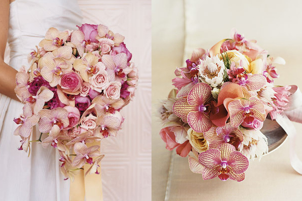 Wedding Bouquets Using Orchids Friday Flowers Phalaenopsis Elizabeth Anne