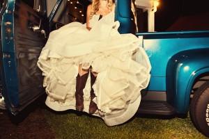 Vintage Wedding Getaway Car 1
