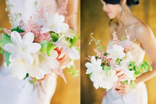 White Clematis Bouquet by Jose Villa