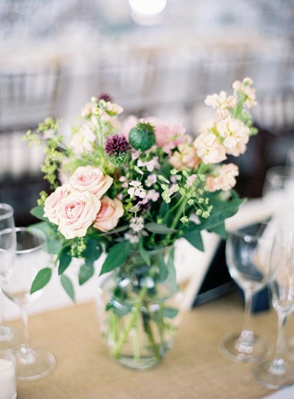 Wildflower Wedding Centerpiece Elizabeth Anne Designs The Wedding
