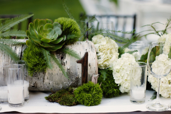 Woodsy Wedding Centerpiece 2