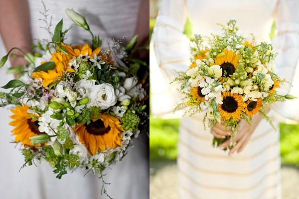 yellow sunflower wedding bouquet elizabeth anne designs the