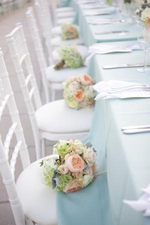 Baby Blue Wedding Linens