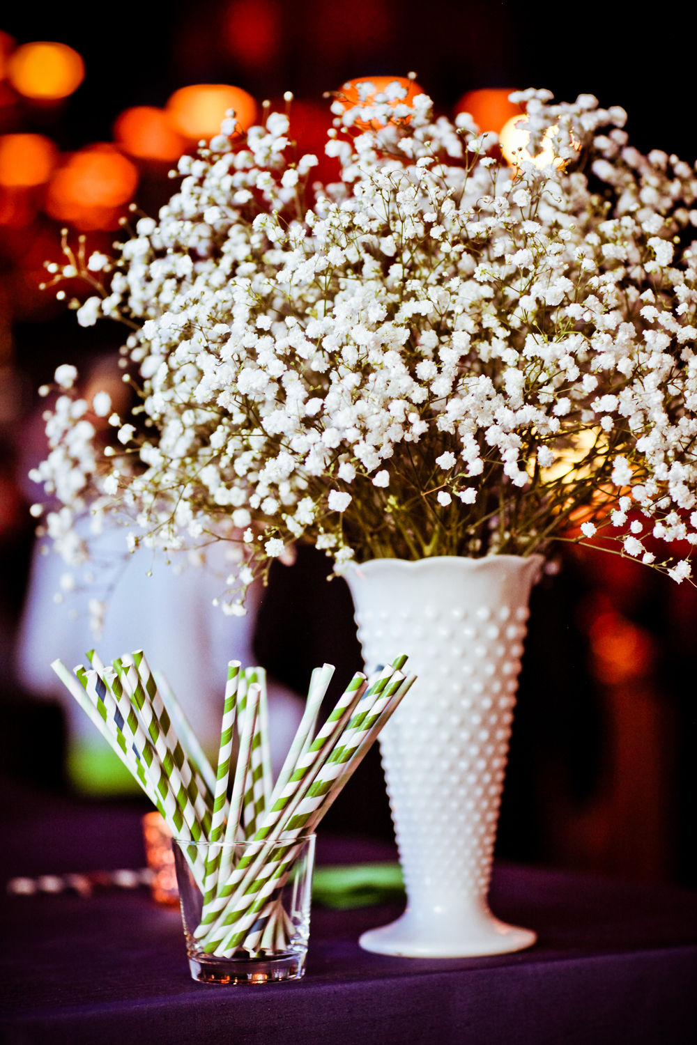 babys breath reception table centerpiece 11 elizabeth