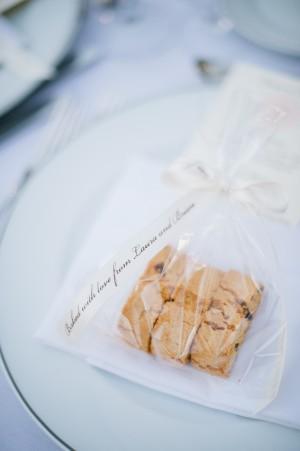Biscotti Wedding Favor