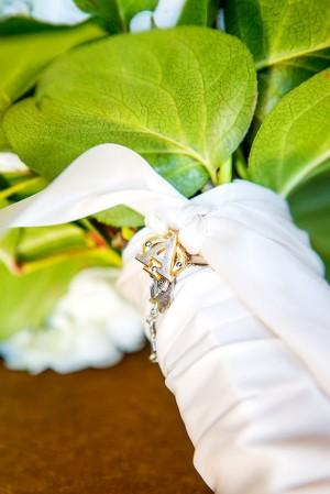Bridal Bouquet Wrap Detail1