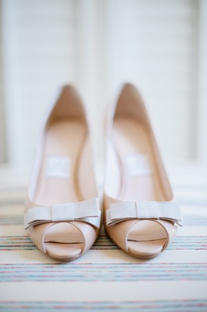 Bridal Shoes With Boes