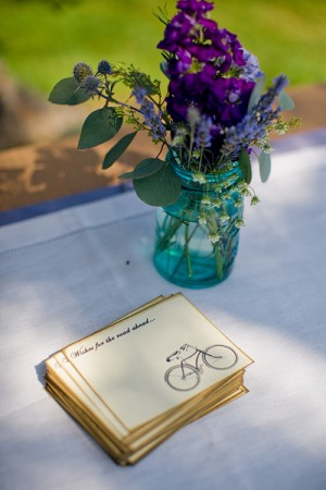 Bridal Wishes Guest Table