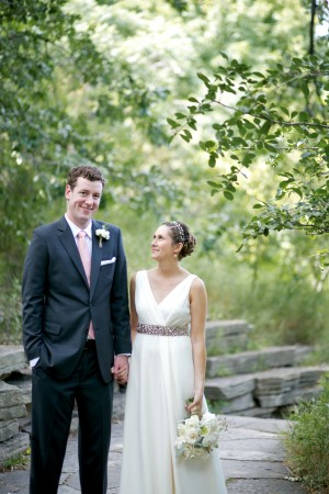 Bride and Groom Outdoor Portrait1
