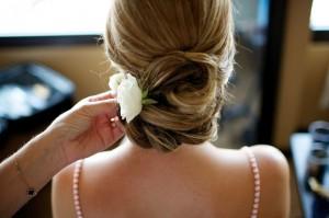 Casual Bridal Updo