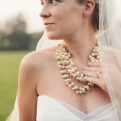 Chunky Gold Bridal Necklace