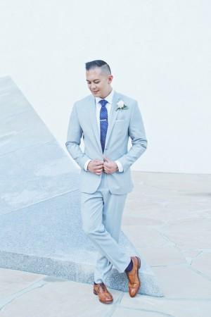 Classic Groom in Blue Suit