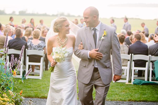 Classic New England Wedding Ceremony