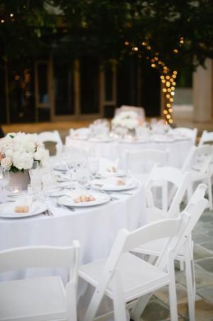 Classic White Wedding Details