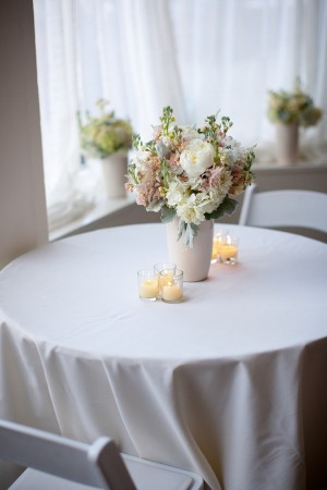 Cocktail Table Flower Centerpiece