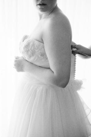 Elegant Black and White Wedding Portraits Jessica Lorren 1