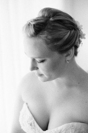 Elegant Black and White Wedding Portraits Jessica Lorren 2