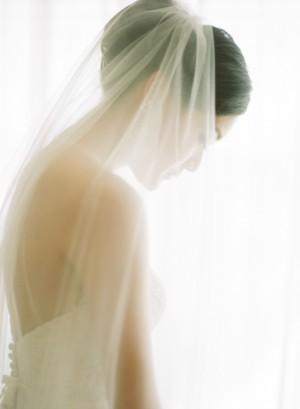 Elegant Bridal Portrait Sarah K Chen