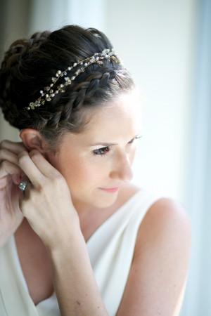 Elegant Bride Getting Ready