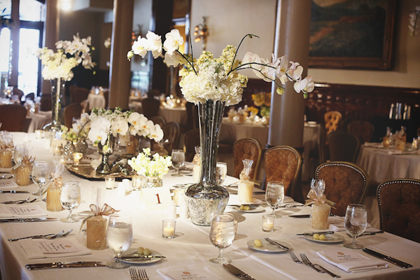 Elegant Taupe Ivory Tabletop