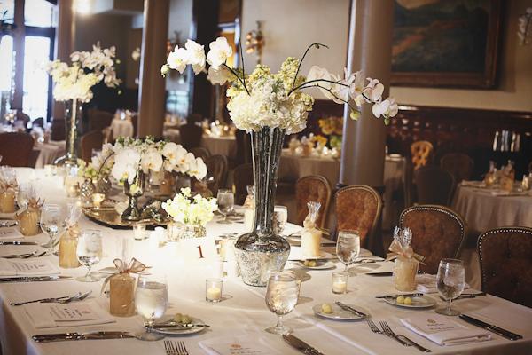 Elegant Taupe Ivory Tabletop