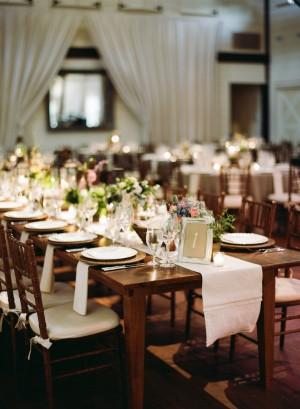 Elegant Wood Estate Tables