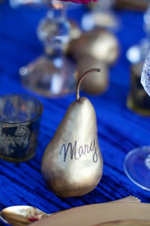 Gilded Pear Place Cards