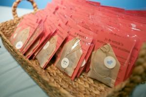 Homemade Tea Bags Favors